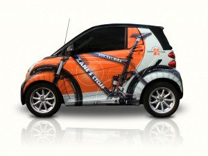 Zane's Cycles Smart Car