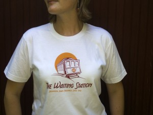 The Waiting Station Trolley Tee